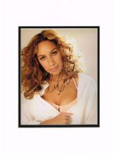 Leona Lewis Autograph Signed Photo
